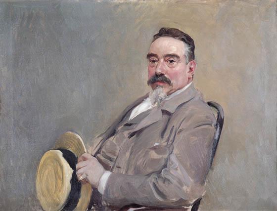 Joaquín Sorolla, Retrato de Antonio García Peris, hacia 1908