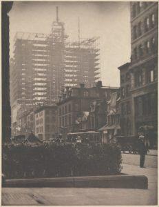 Alfred Stieglitz, Old and New New York, 1910