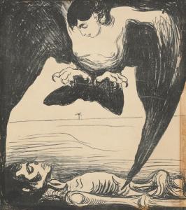 Edvard Munch, Arpía, 1899