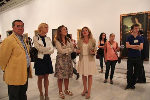 La exposición de Julio Romero de Torres en el Museo de Bellas Artes de Sevilla