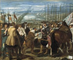 """D. Velázquez. """"La rendición de Breda"""", 1635 (Museo del Prado)"""