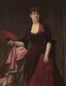 Alexandre Cabanel, Retrato de Arabella Worsham, 1882