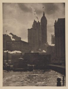 Alfred Stieglitz, The City of Ambition, 1910