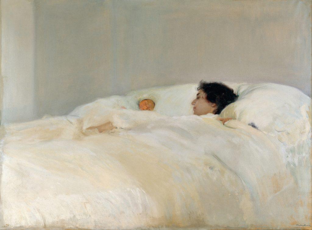 Joaquín Sorolla, Madre, 1895. Museo Sorolla, Madrid