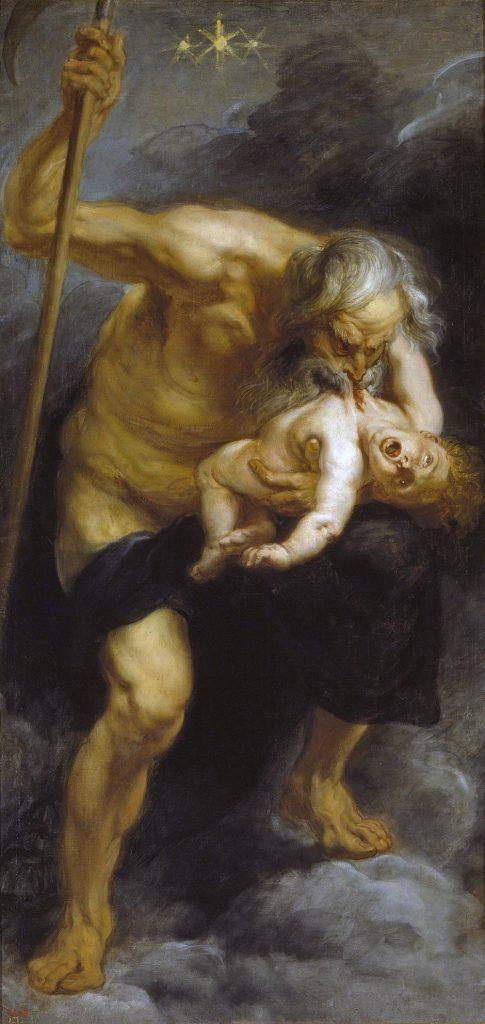 Peter Paul Rubens, Saturno devorando a sus hijos, 1636-1638. Museo del Prado, Madrid