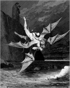 Gustave Doré, El Infierno de Dante, 1861