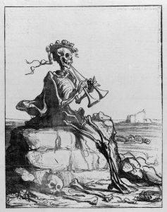 Honoré Daumier, La paz, 1871