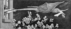 Max Klinger, El rapto, 1881