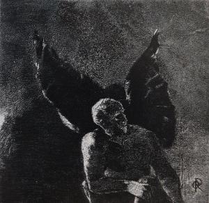 Odilon Redon, Las flores del mal, 1890