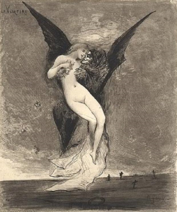 Joseph Apoux, Vampiro, 1890